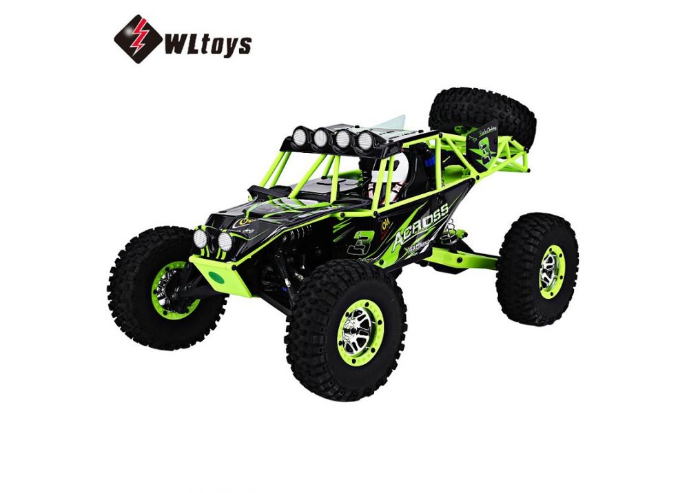 WLtoys 10428 1:10 スケール ラジコンカー  RC 電動ワイルドトラック 戦士車 2.4GHz