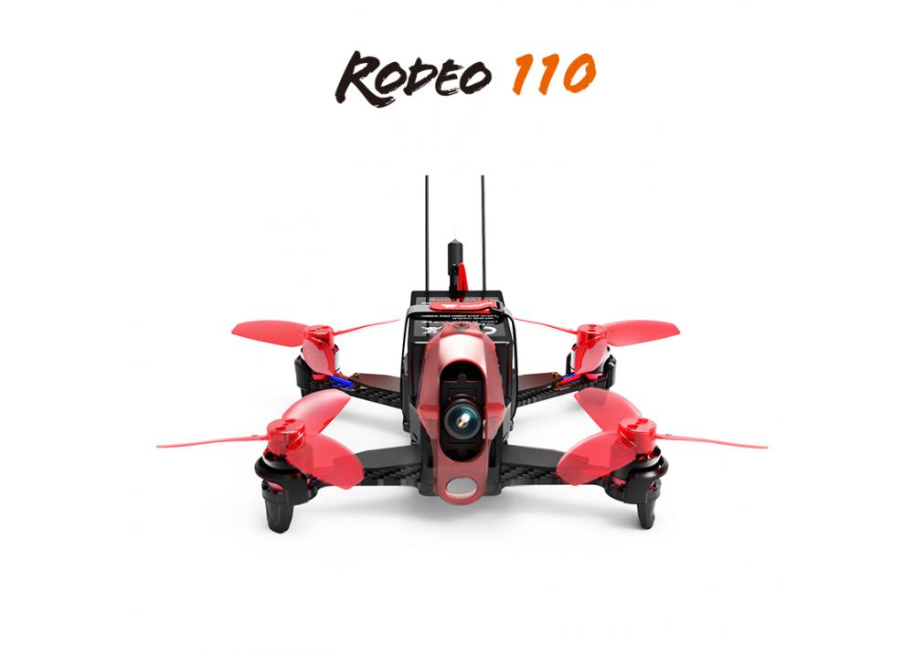 Walkera Rodeo 110 RC レーシング クアッドコプター BNF 送信機無し( 600TVL カメラ/バッテリー/充電器含み)