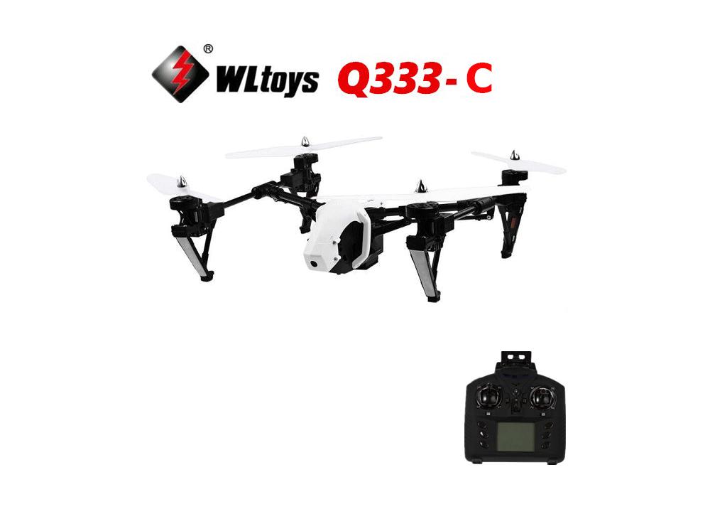 WLtoys Q333-C Q333C  4CH RCドローン クアッドコプター ヘッドレスモード機能付(720Pカメラ搭載)