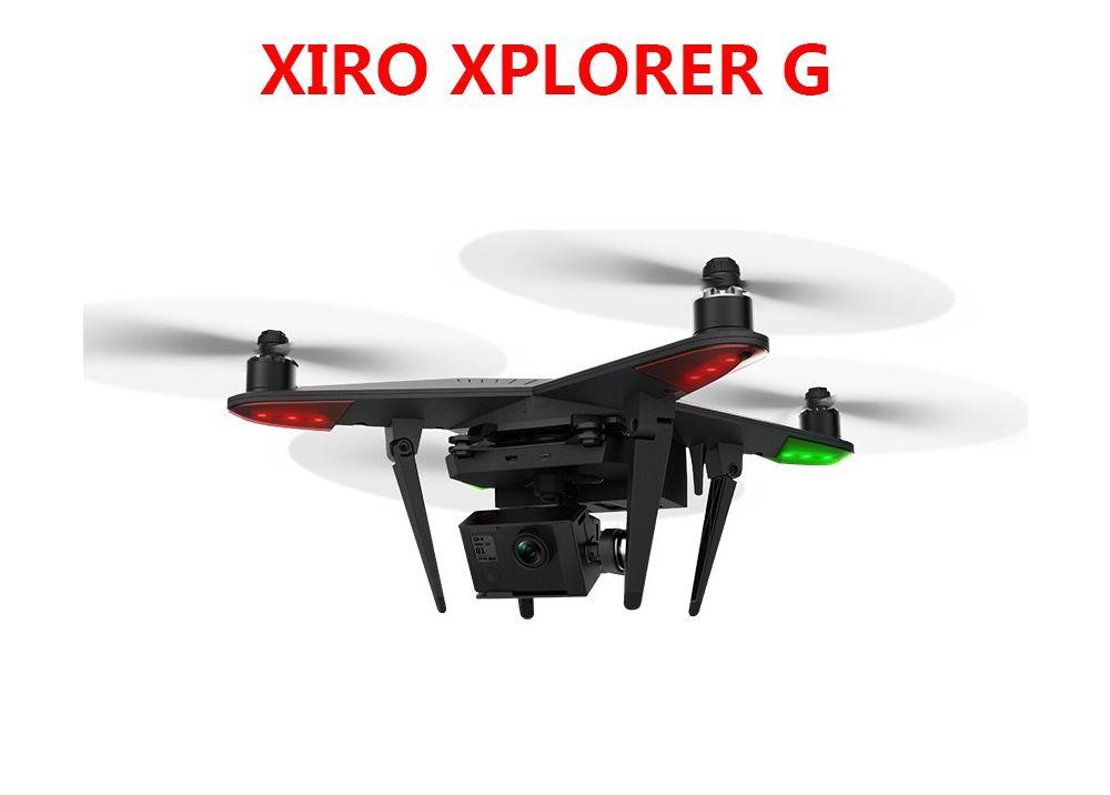 Zero XIRO XPLORER G Xplorer Pro FPV RCクアッドコブター GoPro 3 4用3軸ジンバル付 RTF 5.8GHz