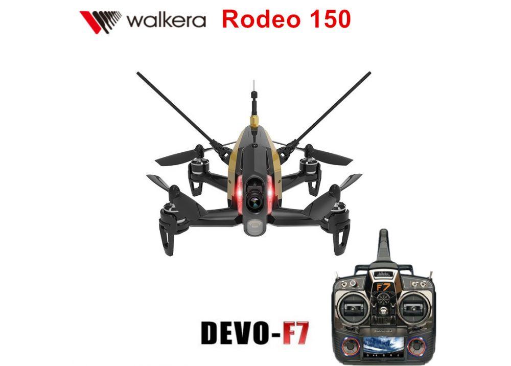【特価】Walkera Rodeo 150 + DEVO F7 送信機フルセット 3D FPV RCレーシングドローン RTF  ( 600TVL カメラ/バッテリー/充電器含み)