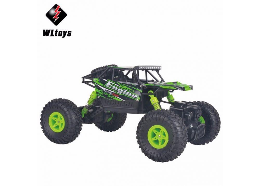 WLtoys 18428-B 1:18 スケール 4WD ラジコンカー  RCオフロード車 2.4GHz