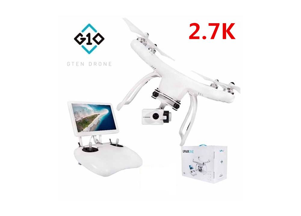 【2.7K FPVモニター付く】 UP Air UPair One 5.8G FPV RC クアッドコプター RTF 2.7K HDカメラ搭載 フォロー・ミー機能付く