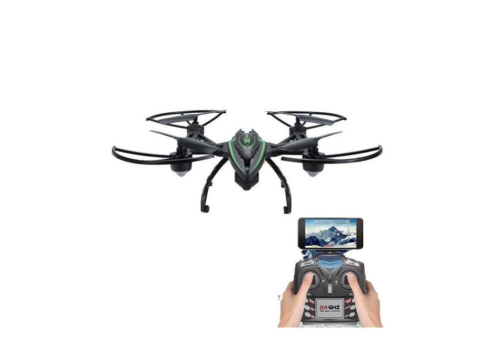 JXD 510W X-Predators 0.3MP WIFI カメラ搭載 高度保持 RC クアッドコプター RTF 2.4GHz