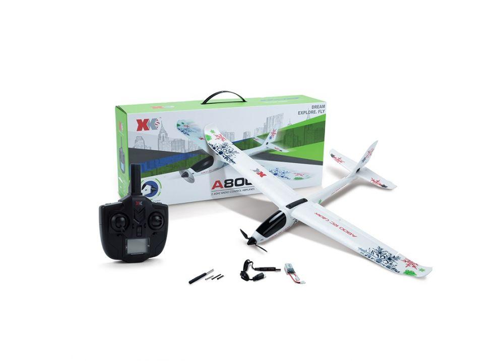 XK A800 5CH RC飛行機 グライダー RTF 2.4GHz