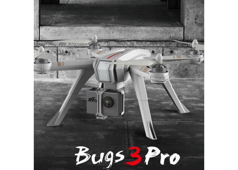 MJX Bugs 3 Pro ( B3 PRO )ブラシレスモーター付き GPS フォローミー RC クアッドコプター RTF