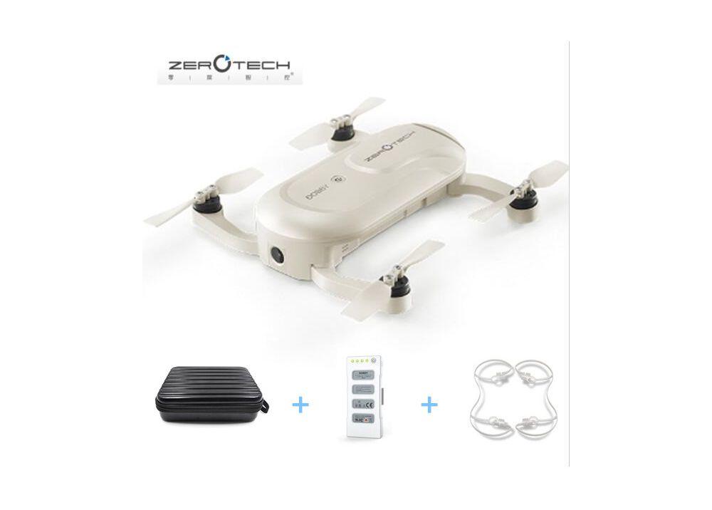【特価】ZEROTECH Dobby 小型 ポケットセルフィードローン  WIFI FPV クアッドコプター  4K HD カメラ& GPS付き(予備バッテリー&ハンドバッグ付く)