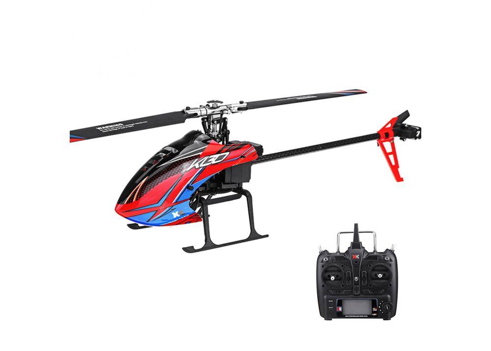 XK K130 6CHブラシレス 3D6Gシステム フライバーレスRCヘリコプター FUTABA S-FHSSサポート RTF 2.4G