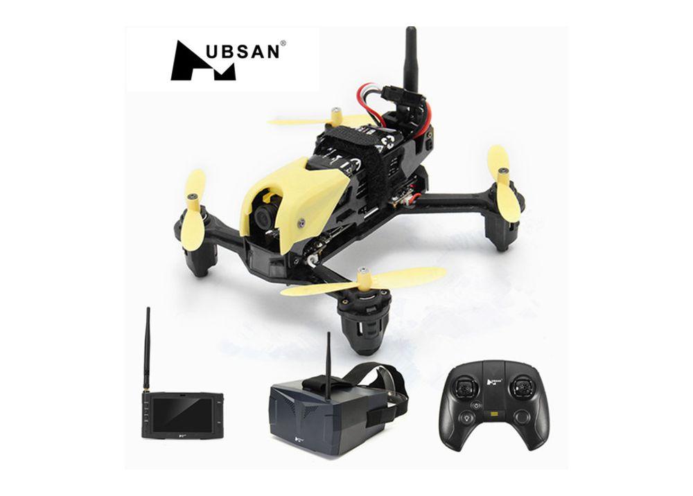 [ゴーグルバージョン] Hubsan H122D X4 STORM 5.8G FPVマイクロレーシングドローンクアドコプター720PカメラHV002ゴーグル