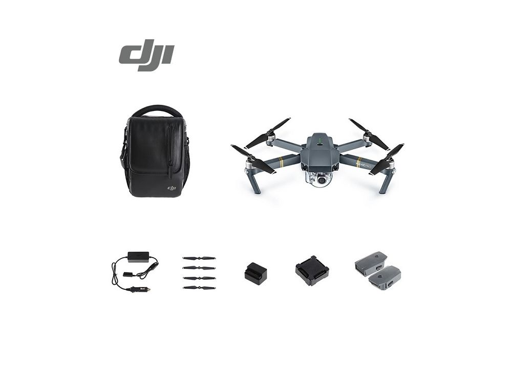 DJI Mavic Pro  (マビックプロ) ドローン 4K HDカメラ/3軸ジンバル搭載  (バッテリー3個/ショルダーバッグ付く)