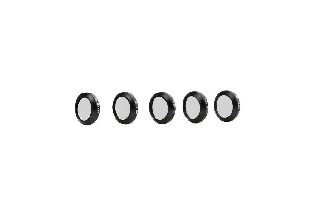 5個/セット DJI Mavic Proドローン用アップグレードパーツ カメラ用CPL偏光フィルター+ ND4 + ND8 + ND16フィルター+ UVレンズ