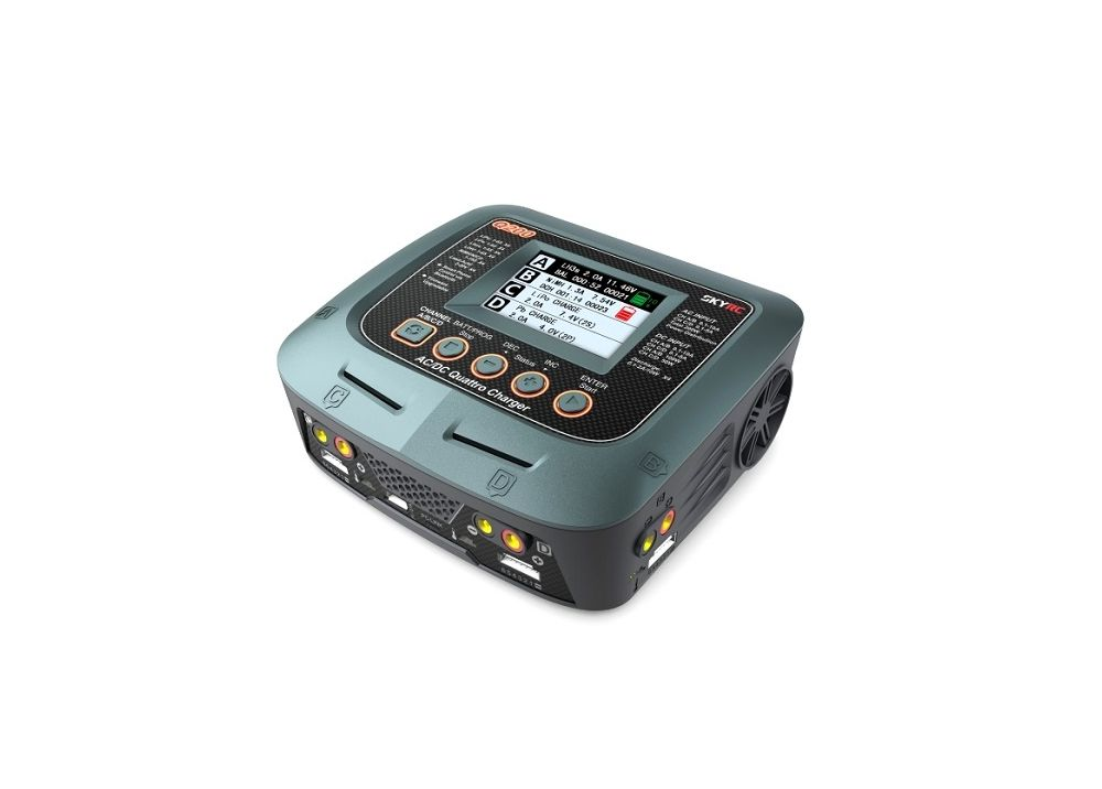 SKYRC Q200 1~4 インテリジェント 充電器/放電器 AC/DC SK-100104