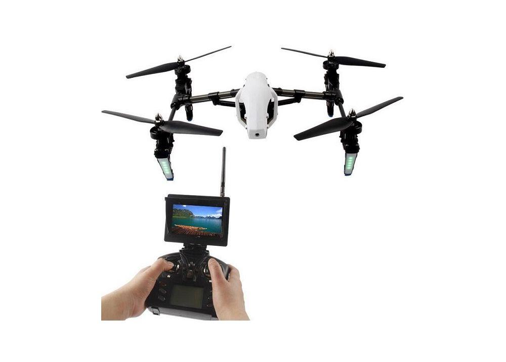 WLtoys Q333-A Q333A 5.8GHz FPV画像伝送 4CH RCドローン クアッドコプター ヘッドレスモード機能付