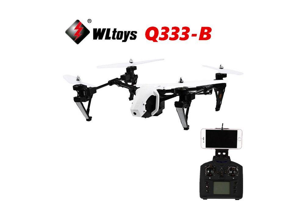 WLtoys Q333-B Q333B WIFI FPVクアッドコプター 0.3MPカメラ付く RTF 2.4GHz