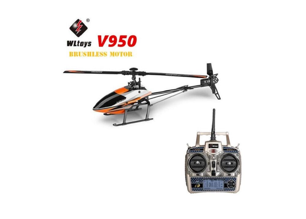 WLtoys V950  450サイズ 6CH ブラシレスヘリコプター RTF  2.4GHz
