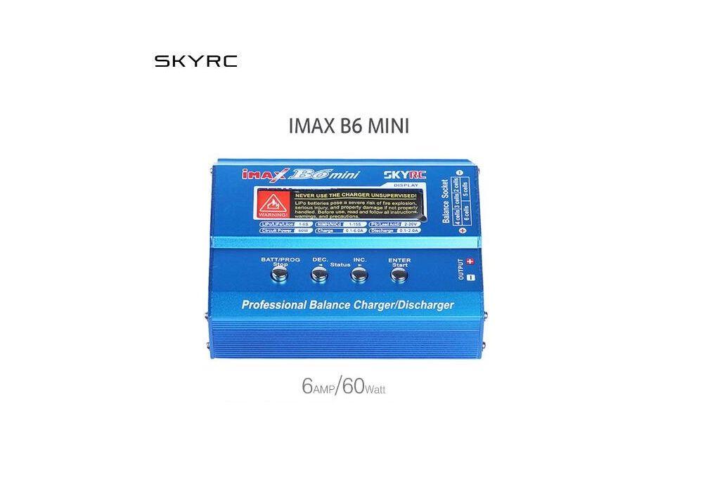 SKYRC iMAX B6 Mini 60W RC充電器/  放電器 リポバッテリーバランスチャージャー SK-100084-02