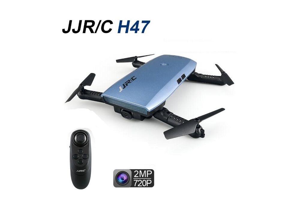 JJRC H47 H47WH 折りたたみ式 WIFI FPV RC クアッドコプター 720Pカメラ搭載  高度ホールド&へドレスモード機能付く