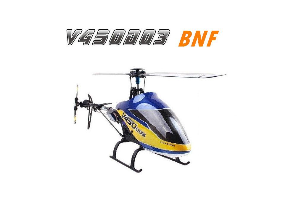 Walkera V450D03 BNF 送信機無し6CH 3D 6軸ジャイロ ブラシレス RC ヘリコプター