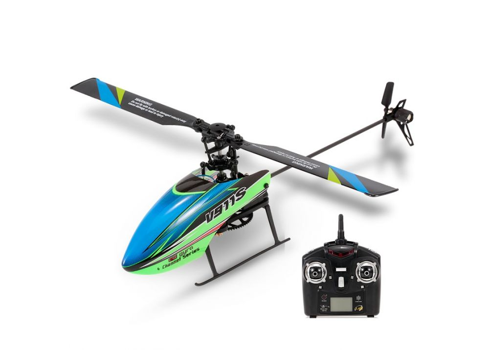 WLtoys V911S 4CH 6Gシステム フライバーレス RCヘリコプター 2.4G RTF
