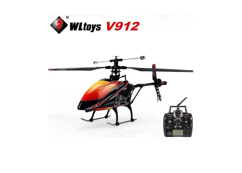 WLtoys V912 Sky Dancer ラジコンヘリコプター 4CH モード切替可能 RTF 2.4Ghz