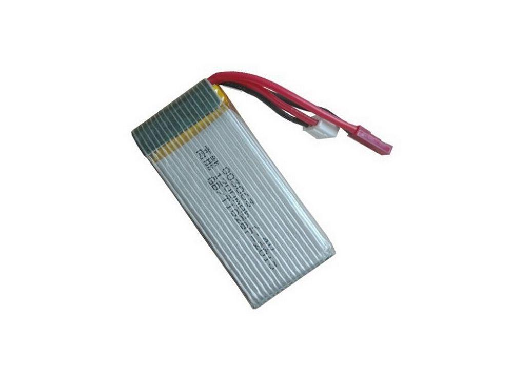 MJX X101 / X102H 用7.4V 1200mAh Lipo バッテリー X101-34