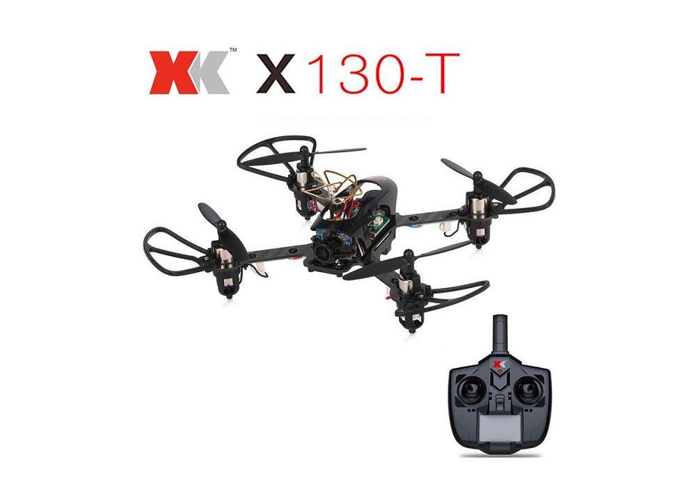 XK X130-T 3D6G  6軸 ジャイロ RC クアッドコプター   720Pカメラ付   RTF 2.4GHz