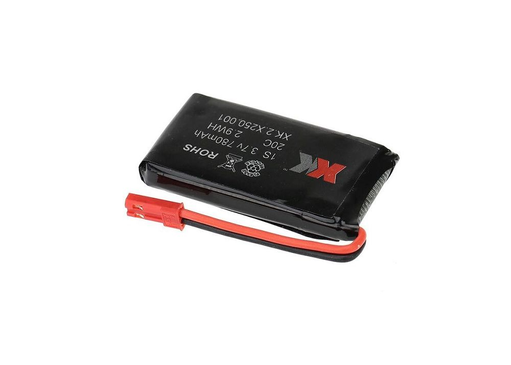 XK X250用 3.7V 780mAh バッテリー XK.2.X250.001