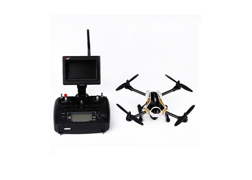 XK X251 4CH 6軸 ブラシレス FPV RCクアッドコプター RTF  カメラ&FPVモニター付き