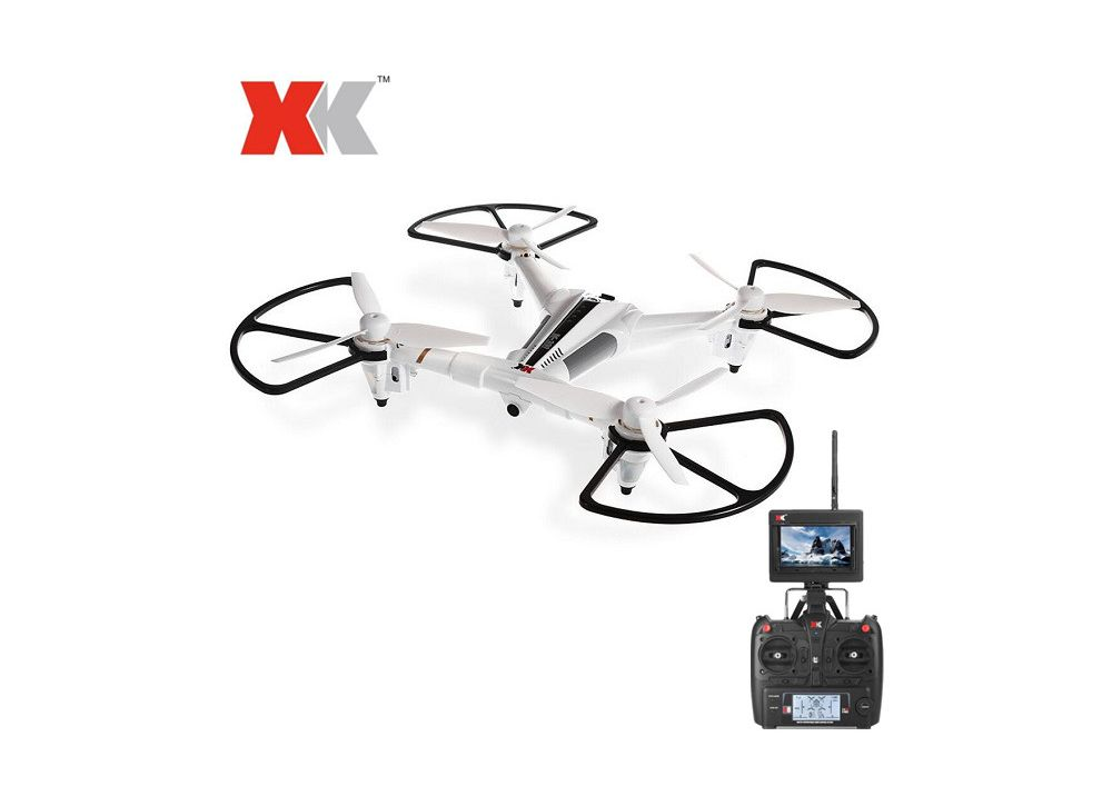 XK X300-F  5.8G FPV  6軸 ジャイロ 高度ホールド RC クアッドコプター   RTF 2.4GHz
