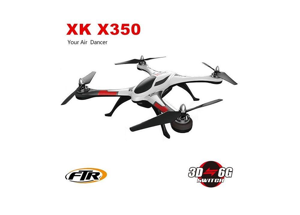 [特価] XK STUNT X350 4CH 6軸ジャイロ 3D 6G モード RC クアッドコプター RTF 2.4GHz XK X350