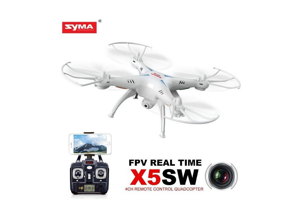 Syma X5SW 6軸ジャイロ WIFI FPV RC ドローン 2.0MP HDカメラ搭載 2.4G RTF WIFIリアルタイム伝送