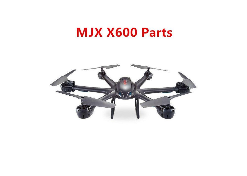 MJX X600用スペアパーツ プロペラ・モーター・バッテリー・ランディングスキッド・受信機など