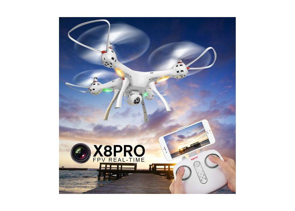 SYMA X8PRO WIFI FPV GPS ドローン  720P WIFI カメラ&ヘッドレスモード機能 付く RTF 2.4GHz