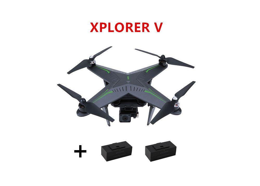 (バッテリー2個含み) Zero XIRO XPLORER V Vision FPV RCクアッドコブター 14MP カメラ付 RTF