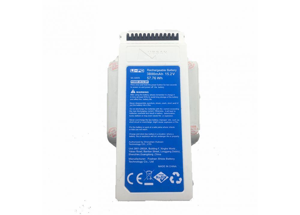 オリジナルHubsan Zino 2 + プラス RCドローン用スペアパーツ 3800mAh LIPO バッテリー ZINO2 + 0-02
