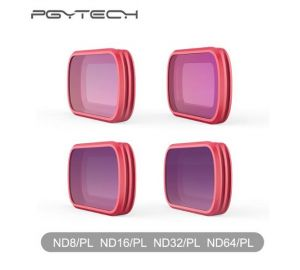 PGYTECH DJI OSMO POCKETハンドヘルドジンバル 用ND8-PL ND16-PL ND32-PL ND64-PLフィルタ 4PCS/セット