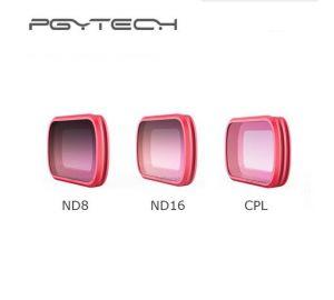 PGYTECH DJI OSMO POCKETハンドヘルドジンバル用 CPL + ND8 + ND16フィルタ  3PCS/セット