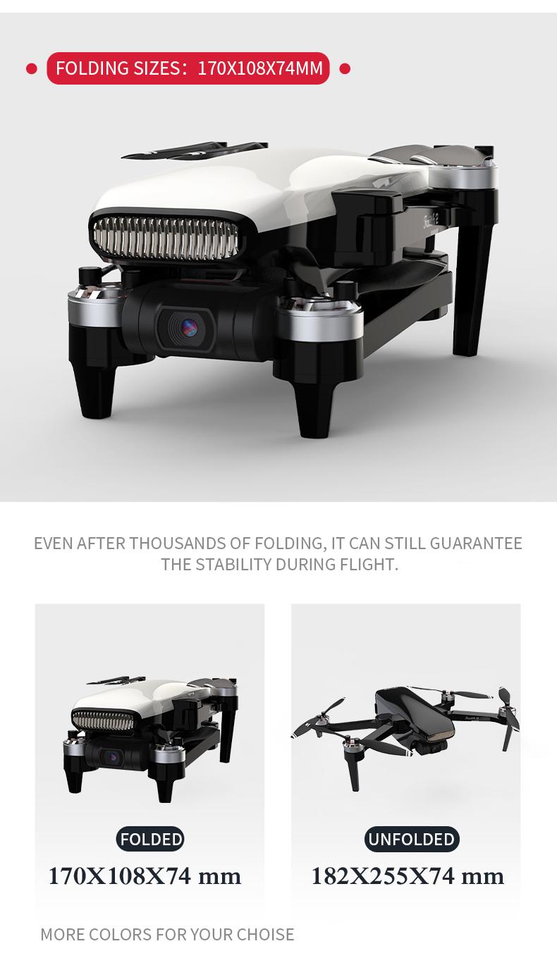 CFLY Faith 2 GPS ドローン ブラシレス折りたたみ式 3軸ジンバル&4K HD SONYカメラ 5G WIFI FPV ドローン