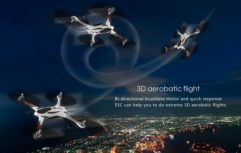 XK STUNT X350 4CH 6軸ジャイロ 3D 6G モード RC クアッドコプター RTF 2.4GHz XK X350