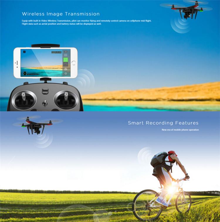 Zero XIRO XPLORER V Vision FPV RCクアッドコブター 14MP カメラ付 RTF 5.8GHz