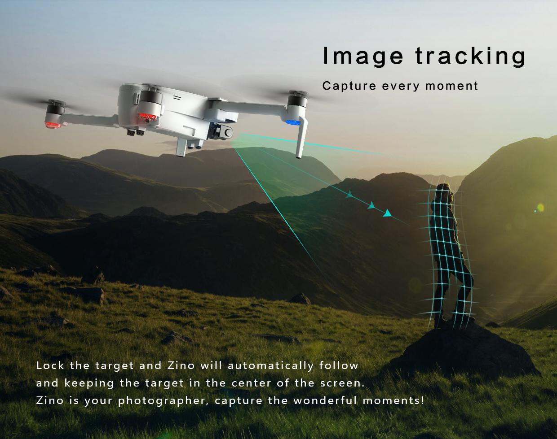 Hubsan H117S Zino GPS 5.8G 折り畳み式 FPVドローン(4K UHDカメラ&3軸ジンバル付)RTF 高速レーシングクワッドコプター