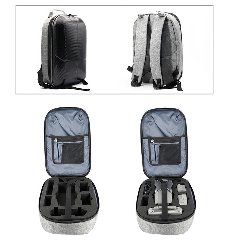 DJI Mavic 2 Pro / ZOOM ドローン用バックパック ハードシェルケース ショルダーバッグ